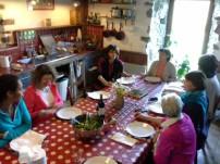 Moment convivial autour de la table