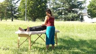séance de massage