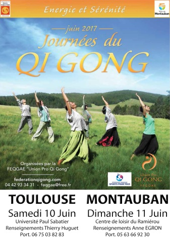 Les journées du Qi Gong 2017