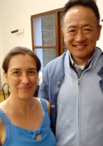 Gwenaelle May et Dr LIU Dong - août 2019